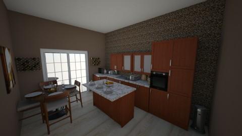 Kitchen - by Eboni Bell