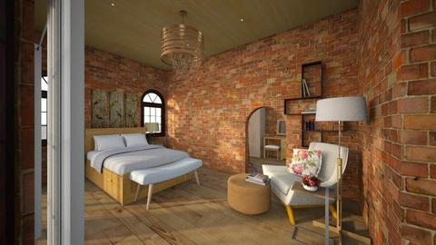 brick house 2nd floor - Rustic - by dhita