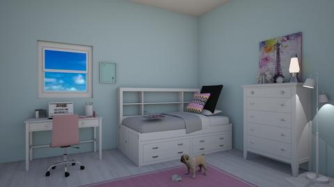 Teenager Bedroom - Classic - Bedroom - by kyramargarete19