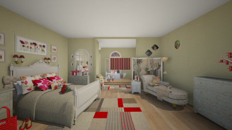 MasterSuite - Glamour - Bedroom - by Lackew
