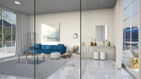 transparent interior - Living room - by Lilaah