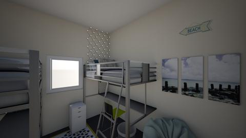 areanna dorm - Bedroom - by Rebekah Kroll