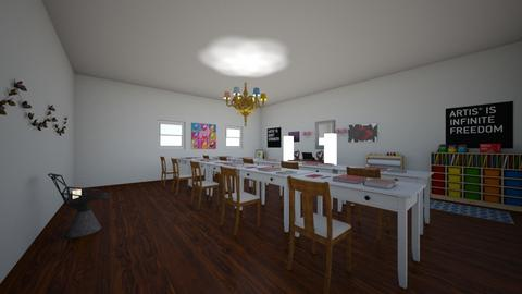 art classroom - Modern - by cnugget