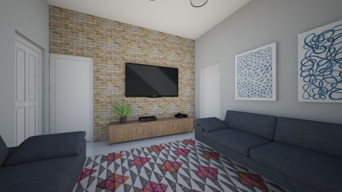 sala reforma - Living room - by daanilopess