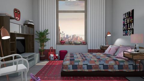 M_ Girl room - Bedroom - by milyca8