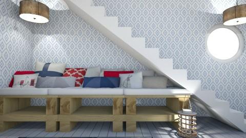 Book Nook - Modern - Living room - by XiraFizade
