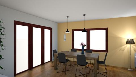 Dvere 858585okno 110zluta - Classic - Dining room - by NoMercy