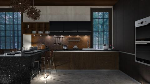 walnut k HD - Kitchen - by rossella63