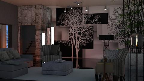 Wall Tree - Modern - Living room - by Sue Bonstra