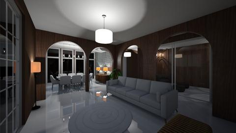 fazenda deluxe - Glamour - Living room - by kelly lucena
