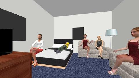 Daniels Houseparty - Modern - Bedroom - by senewby