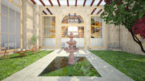 Itlaian Garden - by whodat1910