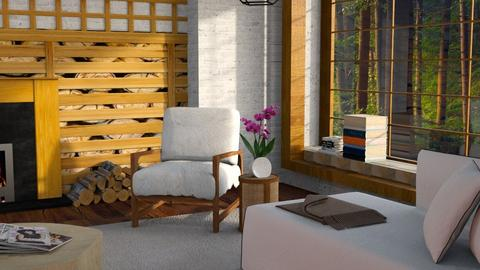 cabin - Living room - by Inna_Inas