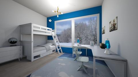 Illuminated - Masculine - Kids room - by Twerka