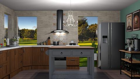 urban kitchen - by cuneyt oznur