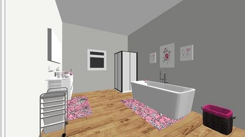 kids bathroom - Bathroom - by Ahniyaw1234