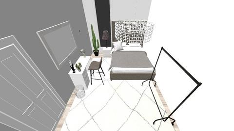 Mitt rum - Glamour - Bedroom - by mollyandersson06