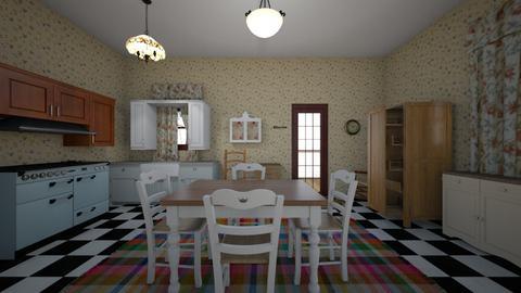 Country Kitchen - Kitchen - by WestVirginiaRebel