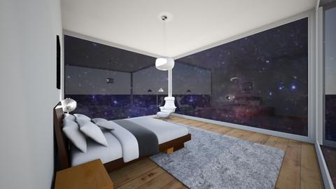 Galactic Bedroom - Bedroom - by Emily_Beech