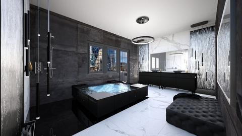 Water wall bathroom     - Bathroom - by chiaraamadei