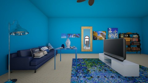 Ocean Blue - Modern - by CEKEYA JOHNSON