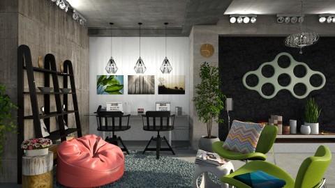 underground office - by Inokentijroom