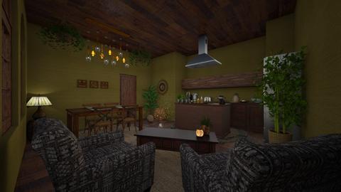 urban jungle - Kitchen - by daydreamer84