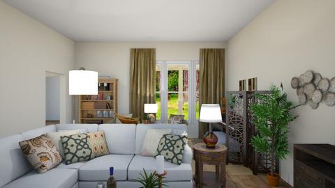 Payne living area 2 - Living room - by Jeanie Jones