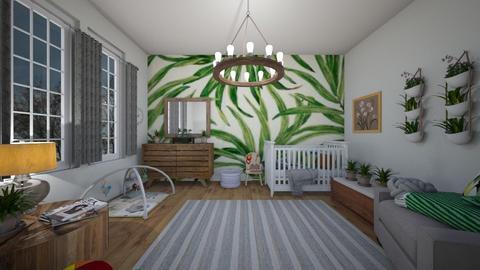 green babe - Kids room - by dena15