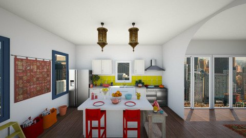 eclectic kitchen - Eclectic - Kitchen - by Ali Ruth