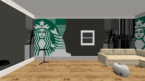 Starbucks - Classic - Living room - by nailu6a