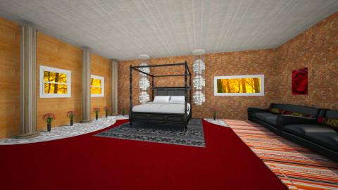 Original bedroom - Bedroom - by Balthazar Pays
