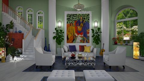 In the Spirit of Matisse - by lydiaenderlebell