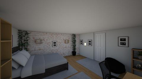 Room project 1_1 - Modern - Bedroom - by mikeeXD