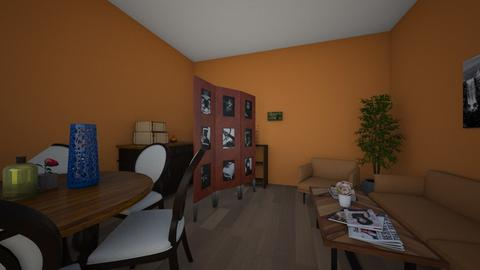 vintage  - Retro - Living room - by mariamimariamoi