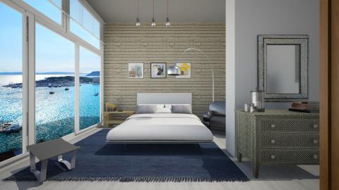 Split - Modern - Bedroom - by Lucii