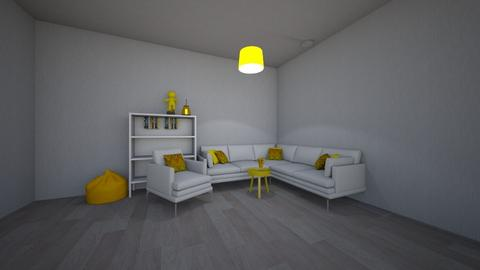 YELLOW LIVING ROOM - Modern - Living room - by silvitalaestilista