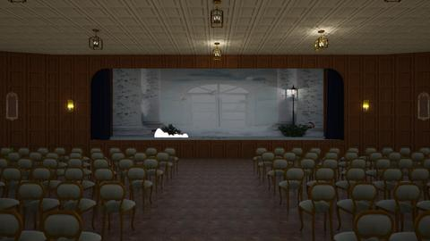 theater stage - by Designs I Love