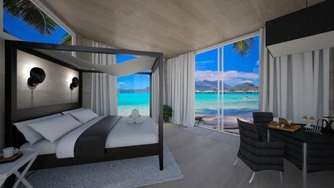 Beach hotel - Modern - by Gena1310