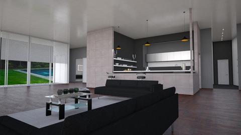 Open space - Living room - by mariateresadrago