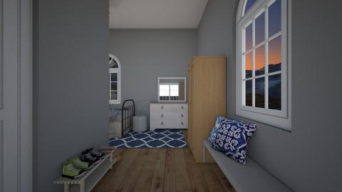 teen room  - Bedroom - by ikurt05