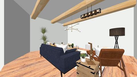 New Mexico - Living room - by katiechau7