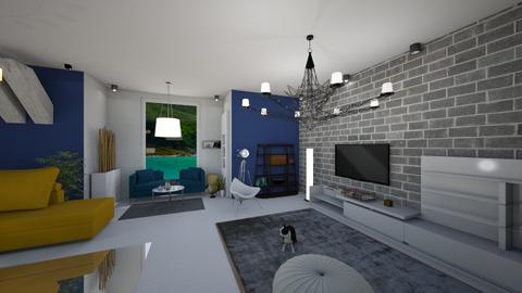 suvil 3 - Living room - by shreeya28