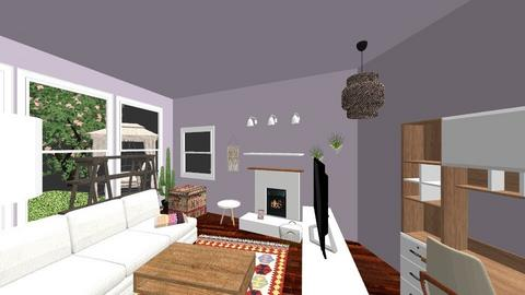 first house entry - Eclectic - by vstemp