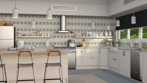 Tiled Kitchen - Kitchen - by GraceKathryn
