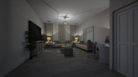 Template room - Living room - by yamz