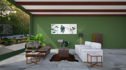 green - Living room - by abby_o