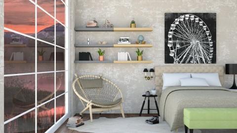Burton - Modern - Bedroom - by aletamahi