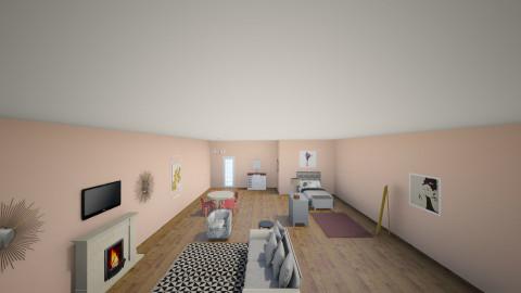 Studio Apartment - Living room - by bobbiemac