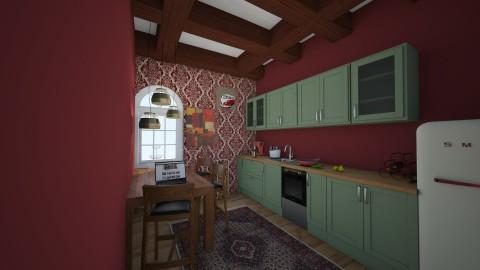 Vintage kitchen - Vintage - Kitchen - by kalaaa
